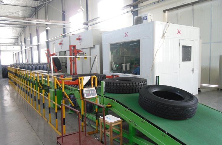 Truck Tyre Xray Testing
