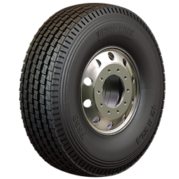 What are the design features of light truck tyres?